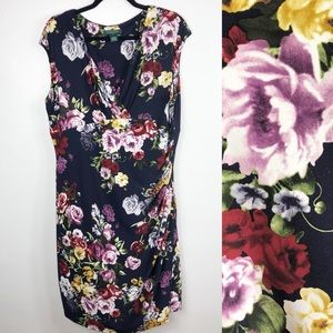 Lauren Ralph Lauren Empire Waist Floral Dress 18